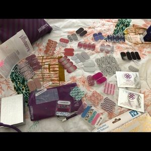 Jamberry starter kit with lots of extra sheets